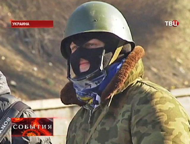 """Боевик """"Правого сектора"""""""