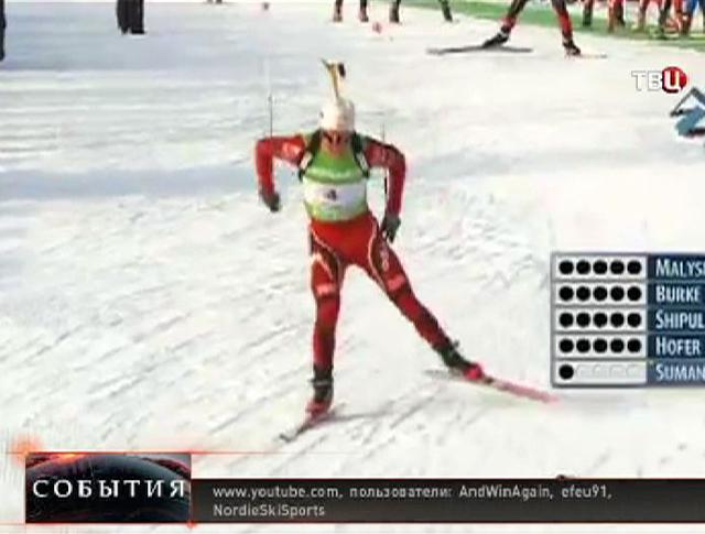 Норвежский биатлонист Уле Эйнар Бьорндален