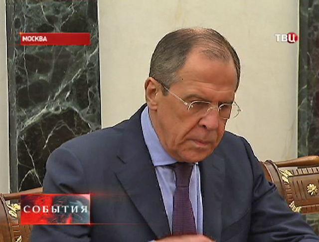Сергей Лавров на совещании Совета безопасности России