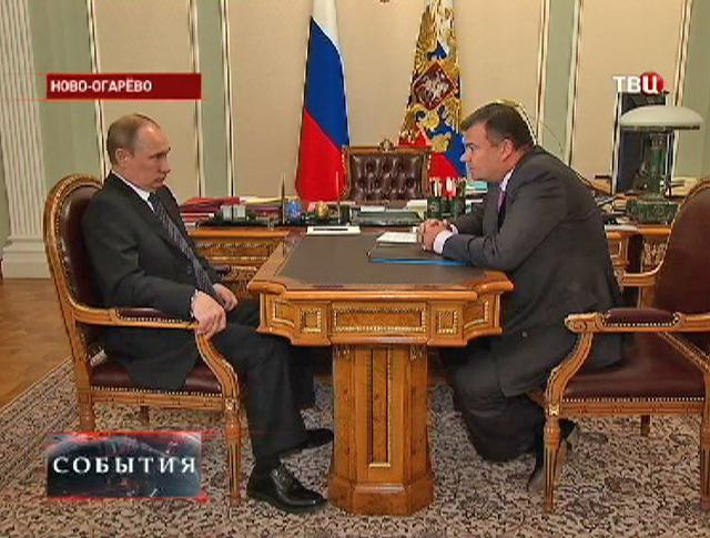"""Владимир Путин на встрече с главой """"Трансмашхолдинга"""""""