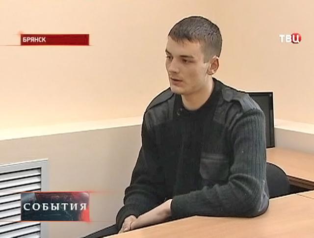 Задержаный наёмник Владислав