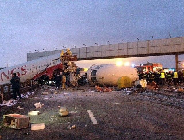 Авиакатастрофа во Внуково с Ту-204