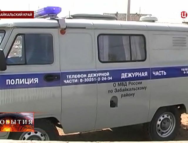 Машина полиции Забайкальского края