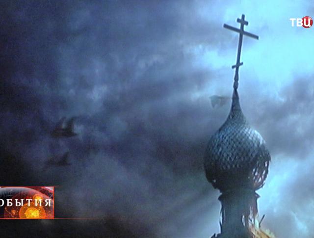 Кадр из фильма о жизни святого Даниила Московского