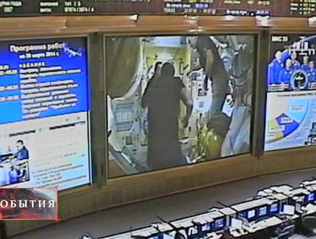"""""""Союз"""" с новым экипажем успешно пристыковался к МКС"""