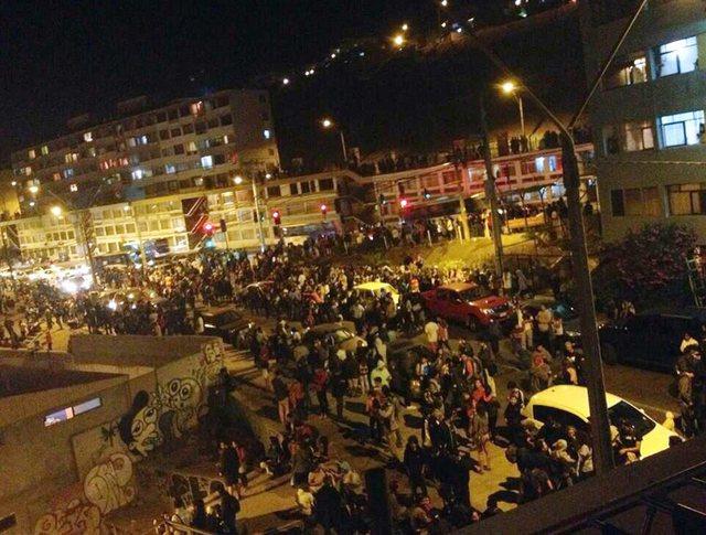 У побережья Чили произошло землетрясение магнитудой 8,2