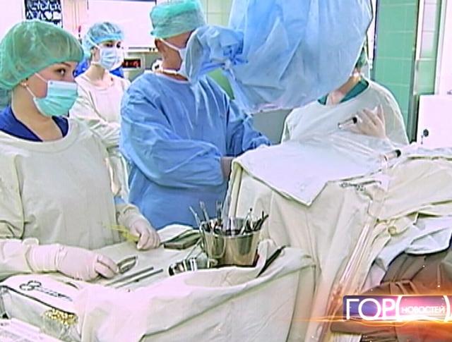 Операционная в больнице склифосовского