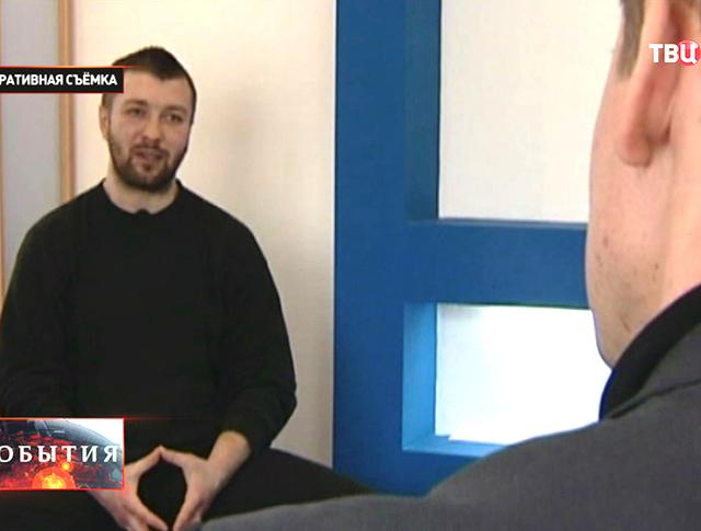 Задержанный украинский диверсант даёт показания