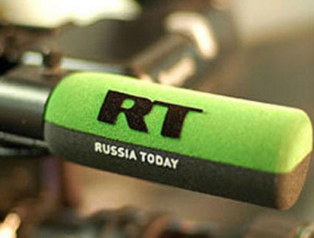 Логотип телеканала Russia Today