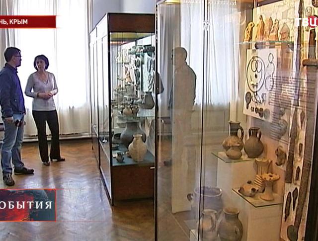 Экспозиция керченского музея