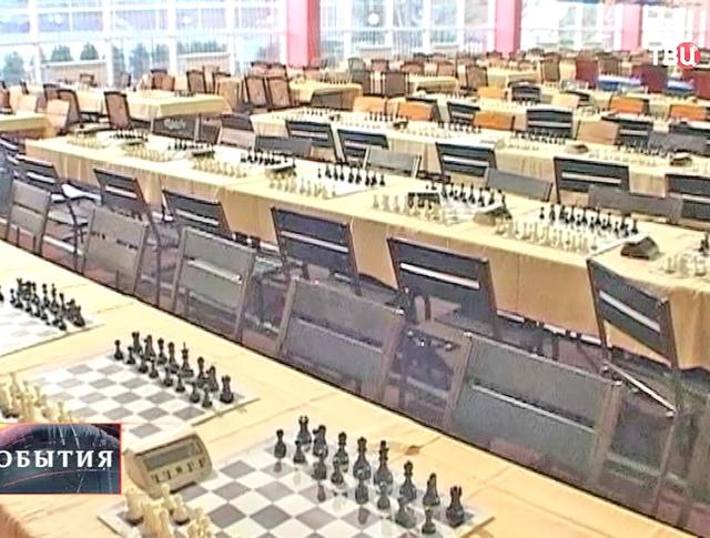 Всероссийский детский шахматный турнир в Краснодарске