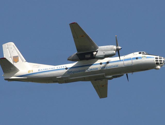Самолет Ан-30 ВВС Украины
