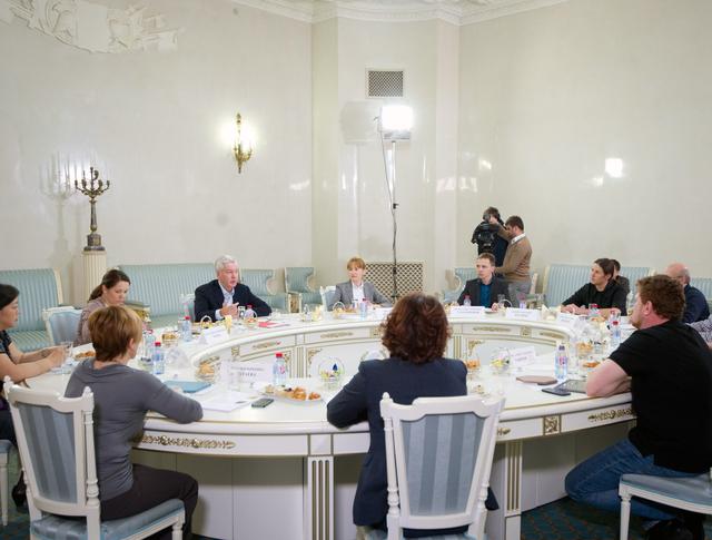 Встреча с участниками краудсорсинг-проекта портала «Наш город»