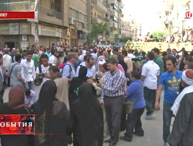 Митинг в Египте