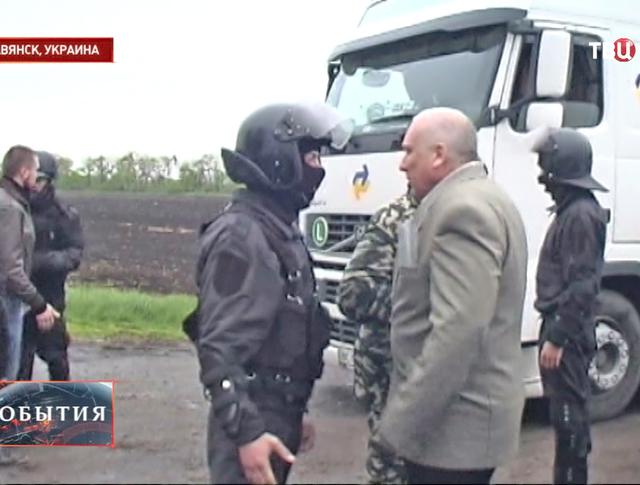 Милиция в Славянске