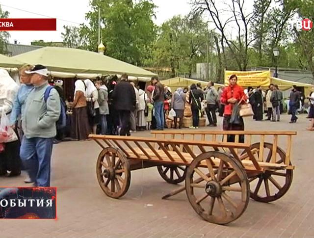 Ярмарка народных промыслов в Москве