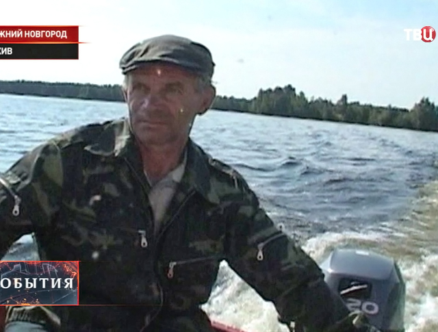 Поиски обломки самолета в Нижнем Новгороде
