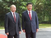 Владимир Путин и председатель КНР Син Цзиньпин