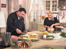 """Барышня и кулинар. """"Зимний обед"""""""