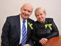 Николай Добронравов и Александра Пахмутова
