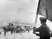 В освобожденном Минске. Великая Отечественная война
