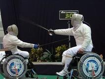 Фехтование на колясках