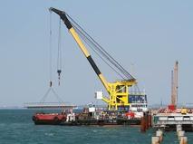 Строительство моста в Керченском проливе