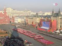 Парад 74-я годовщина