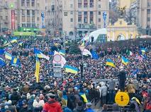 Майдан Незалежности в Киеве в декабре 2013 года