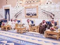 Встреча сирийской оппозиции и короля Саудовской Аравии
