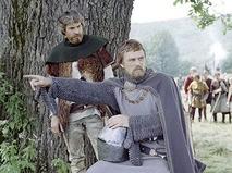 "Кадр из фильма ""Баллада о доблестном рыцаре Айвенго"""