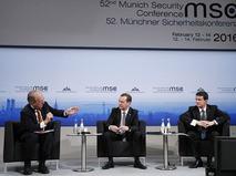 Дмитрий Медведев принял участие в Мюнхенской конференции по безопасности