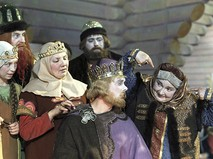"Кадр из фильма ""Сказка о царе Салтане"""