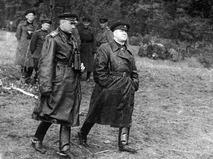 Константин Рокоссовский и Георгий Жуков
