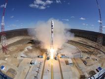 Первый пуск ракеты-носителя с космодрома Восточный
