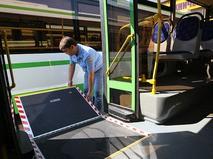 Низкопольный автобус ЛиАЗ