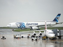 Самолёт авиакомпании EgyptAir