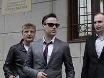 Певец Витас у здания Останкинской межрайонной прокуратуры
