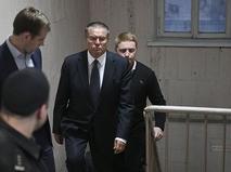 Алексей Улюкаев в здании Басманного суда города Москвы