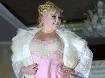 Ведущяя plus-size модель Екатерина Жаркова
