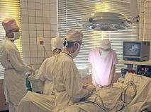 Во время операции в больнице. 1996 год