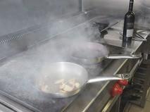 Кухня в ресторане