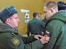 Российские призывники