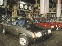 Автомобили, сошедшие с конвейера Волжского автомобильного завода