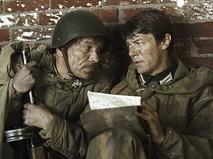 """Кадр из фильма """"Шёл четвёртый год войны"""""""