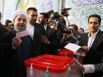 Действующий президент Ирана Хасан Роухани на выборах