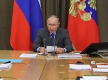 Владимир Путин проводит совещание по вопросу развития космической отрасли РФ