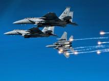Истребители F-15E ВВС США