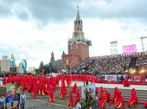Открытие Дня города на Красной площади