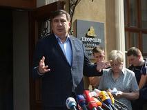 Экс-губернатор Одесской области Михаилу Саакашвили